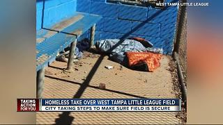 West Tampa Little League forced to play around urine, feces - Video