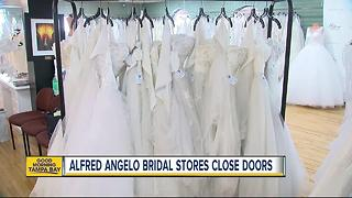 Alfred Angelo Bridal retailer reportedly closing its doors nationwide - Video