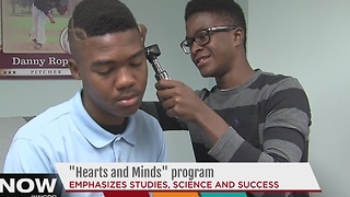 Hearts and Minds program emphasizes studeies, science and success - Video