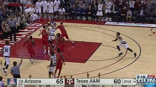 Arizona takes down Aggies in Houston