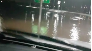 Adelaide Drivers Battle Flooded Roads After Severe Storm - Video