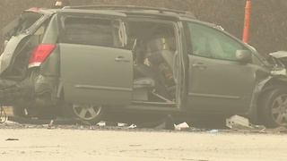 Driver dies after crashing stolen vehicle into semi during police pursuit