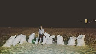 Woman Inspires Beach Cleanup After Partygoers Trash Coogee Over Christmas - Video