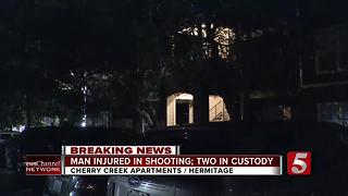 Man Allegedly Shot By Girlfriend's Ex At Hermitage Apartments - Video