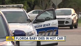 1-year-old Florida boy found in hot car, later dies - Video