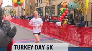 Turkey Day 5K run - Video