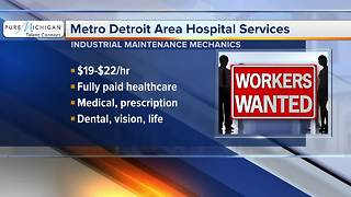 Workers Wanted: Metro Detroit Area Hospital Services - Video