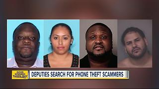 Group attempts to steal over $100K of merchandise in state-wide cell phone theft - Video