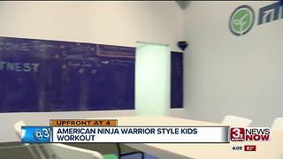 Omaha opens ninja warrior gym for kids - Video