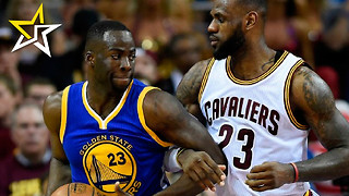 Draymond Green Tags King James In The Junk During Game 4 Of The NBA Finals