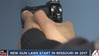 New Missouri concealed weapons law to take effect - Video