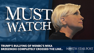 Trump's bullying of MSNBC's MIKA BRZEZinski completely crossed the line.. - Video