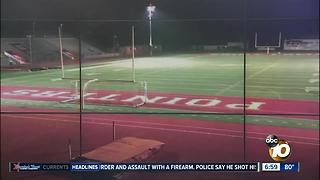 Lawsuit over high school stadium lights