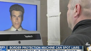 Border protection machine can spot liars - Video