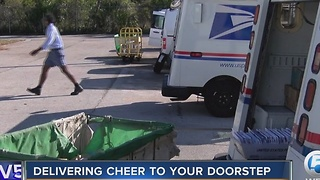 US Postal Service delivers cheer to your doorstep for the holidays - Video