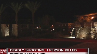Shooting at apartment complex in southwest Las Vegas