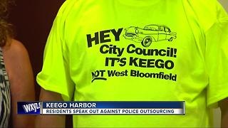 Keego Harbor considers outsourcing police services to West Bloomfield - Video