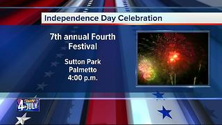 Fourth of July Celebration in Palmetto - Video