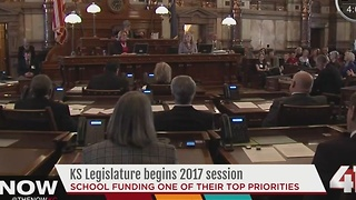 Kansas legislature to tackle school funding - Video