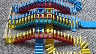 Dominoes in Reverse Will Blow Your Mind - Video