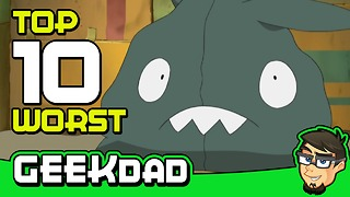 Top 10 laziest Pokemon designs - Video