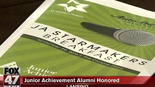 Junior Achievement alumni honored in Lansing - Video