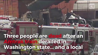 Deadly Amtrak Crash Followed Mayor's Chilling Prediction - Video