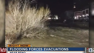 Flooding continues in Reno area - Video
