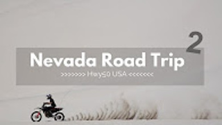 Nevada road trip in 4K - Part 2 - Video