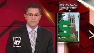 Michigan State road trip to promote research, innovation - Video