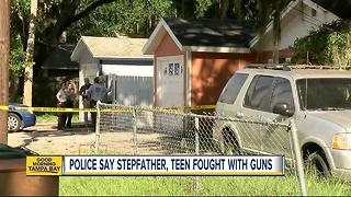 Police: Stepfather shot 12 and 19 year olds inside Bradenton home - Video