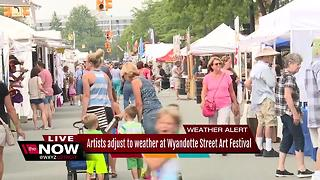 Wyandotte Art Fair in full swing - Video