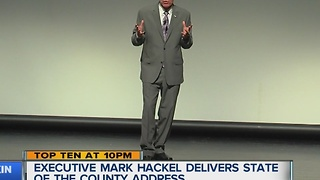 Hackel gives State of the County speech