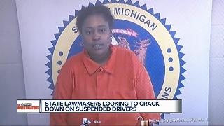 State lawmakers looking to crack down on suspended drivers - Video