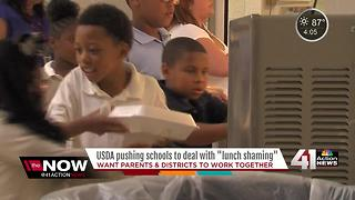 School districts take a stand against school lunch shaming