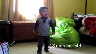 Evolution of dance: Adorable toddler edition - Video