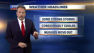 Scott Steele's Saturday evening Storm Team 4cast - Video
