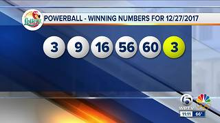 Powerball winning numbers announced - Video