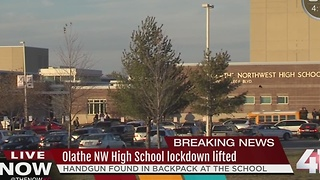 Lockdown lifted at Olathe NW High School - Video