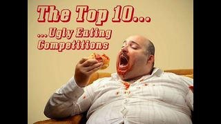Top 10 Ugly Eating Competitions - Video