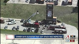Officials investigating after elevator rescue in KCMO - Video