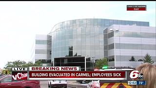 Carmel offices evacuated because of strange odor, 14 hospitalized for feeling sick - Video