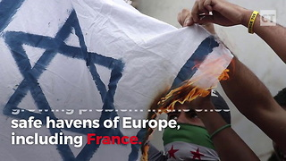 Jews Forced to Flee from Anti-Semitism in France - Video