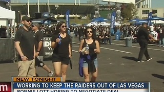 Report: Former Raiders player close to deal to keep team in Oakland - Video