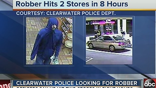 Clearwater Police investigating 7-Eleven overnight robbery - Video