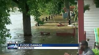 Record flood expected on the Fox River - Video