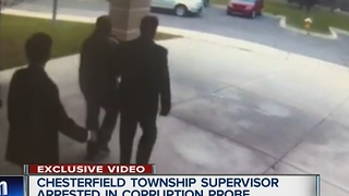 Chesterfield Township supervisor arrested & charged for demanding and taking bribes - Video