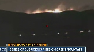 Series of suspicious fires on Green Mountain - Video