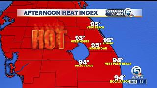 South Florida Monday afternoon forecast (6/12/17) - Video