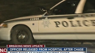 Tulsa Police Officer released from hospital after involved shooting